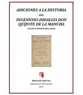 Adiciones a la Historia del Ingenioso Hidalgo don Qujote de la Mancha
