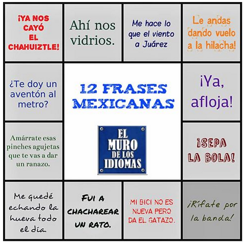 12 frases mexicanas en español