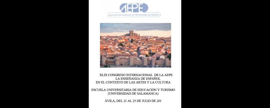 XLIX Congreso Internacional de la AEPE