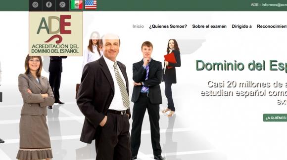ADE acreditación del dominio del español