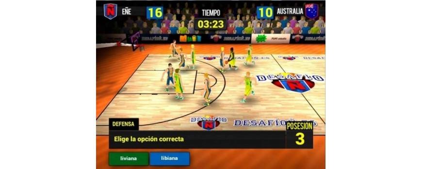 El videojuego DesafioN para escribir correctamente en español